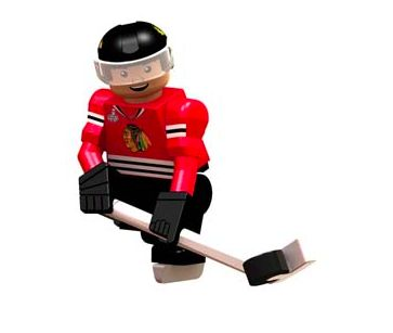 Blackhawks Brandon Saad Figure
