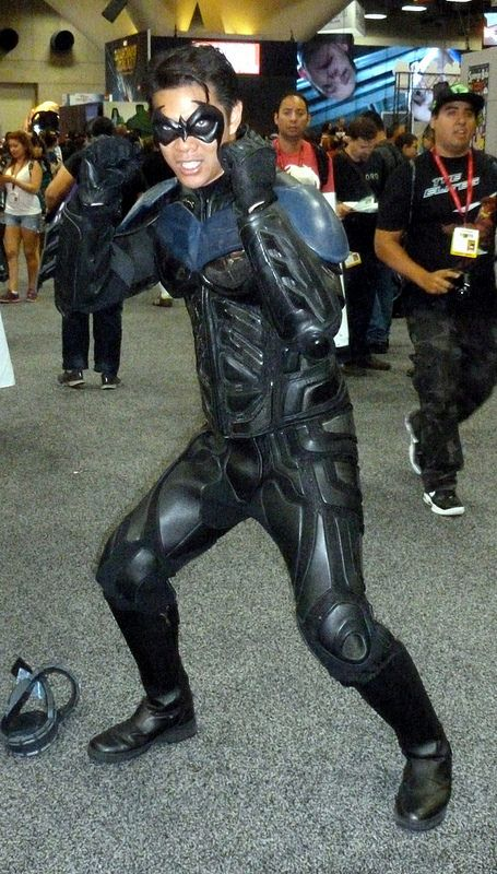 Nightwing cosplay at Comic-Con 2014 (SDCC)