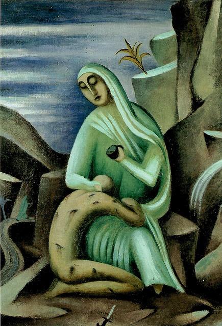 Zrzavy 1914-15c Samaritan by calypsospots,