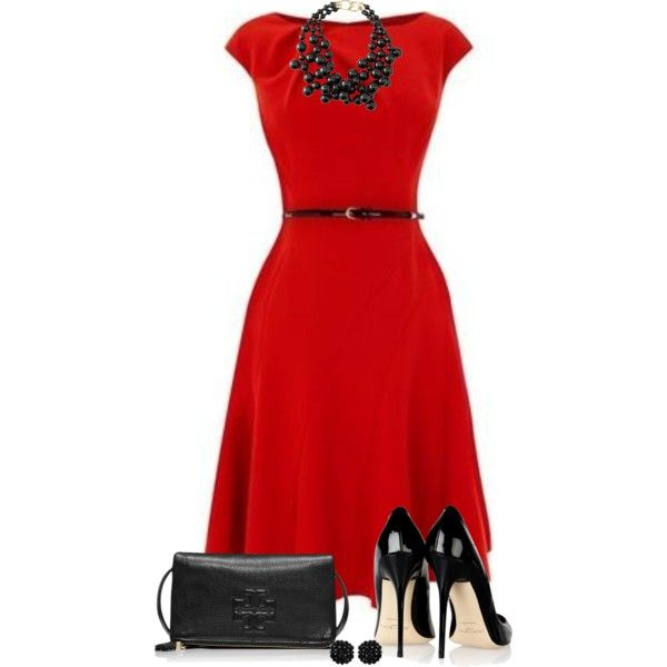 Shoes to match dark red dress