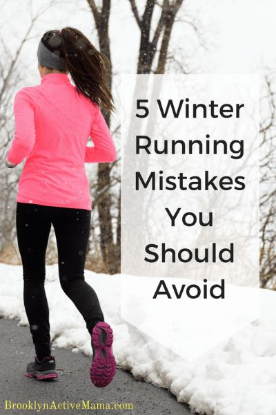 5 Winter Running Mistakes You Should Avoid & other Winter Running Tips from experienced runners!