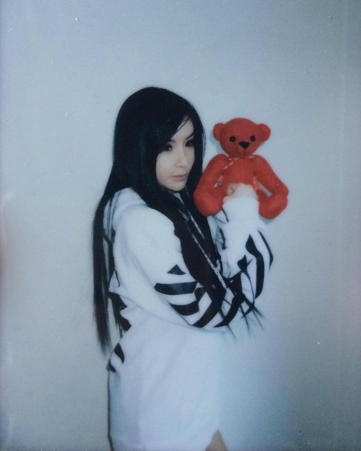 "1,496 Likes, 5 Comments - PARK BOM (박봄) (@royalparkbom) on Instagram: ""- Park Bom's polaroid photo scan from 2NE1's 2nd full length studio album ""CRUSH"""""