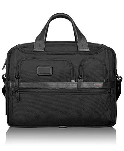 bf4fa174675 Top 10 Tumi Laptop Briefcases of 2019. TUMI - Alpha 2 Expandable Organizer  Laptop Brief Briefcase - 15 Inch ...