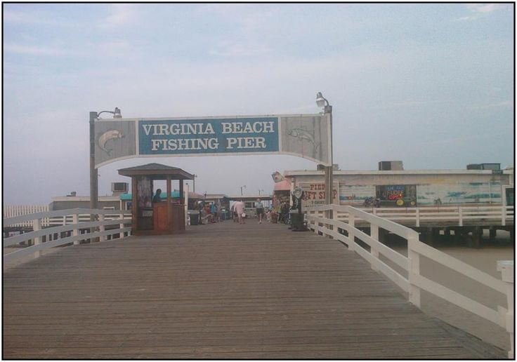 12 best images about virginia beach on pinterest for Fishing piers in va