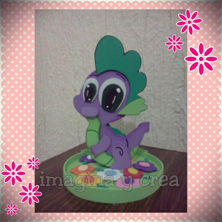 spike fofuchas my little pony