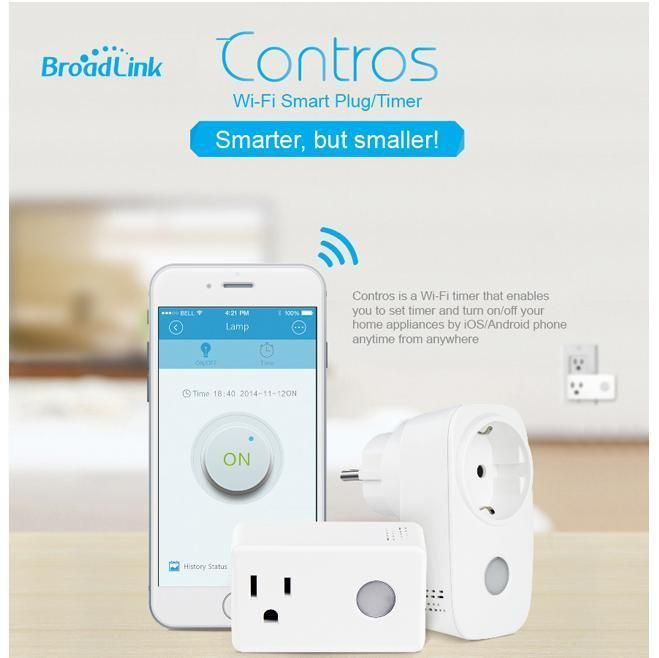 Smart Home Socket Timing BroadLink SP3 SPcc Plug Timer Wireless Remote Control