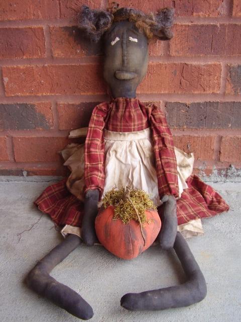 Primitive Autumn Doll...