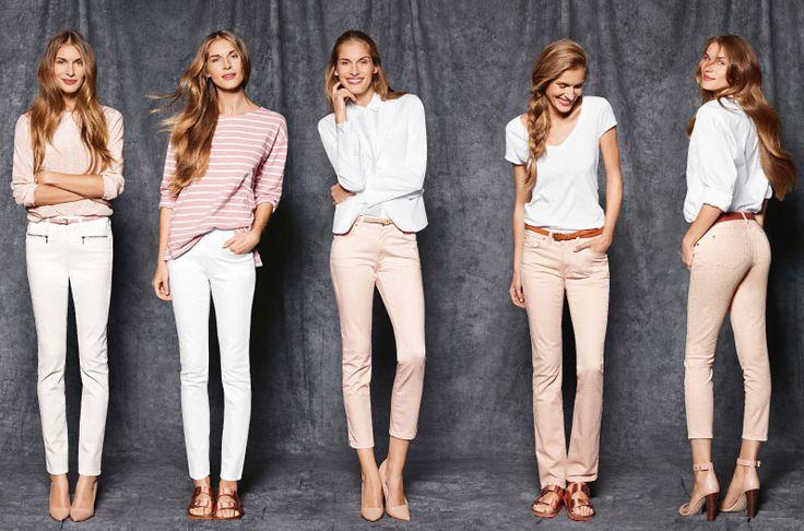 Die neue Angels Jeans Kollektion ist da. Jetzt wo der Frühling von der Tür steht kann man endlich wieder zu helleren Farbtönen greifen. Dieses Frühjahr liegen weiß & pastelltöne wieder voll im Trend.