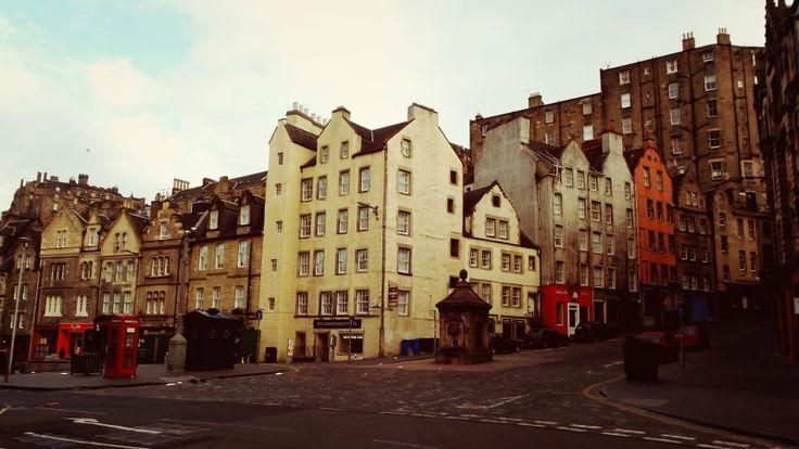 Grassmarket Hotel in Edinburgh, Scotland.