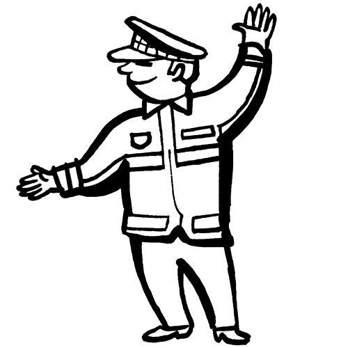 verkehrspolizist ausmalbilder 106 malvorlage polizei