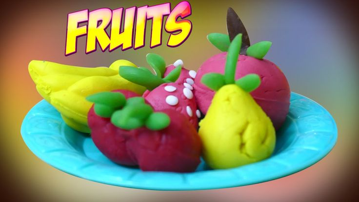 Play Doh Fruit making with Kids toys play set | Lets learn how to make p...