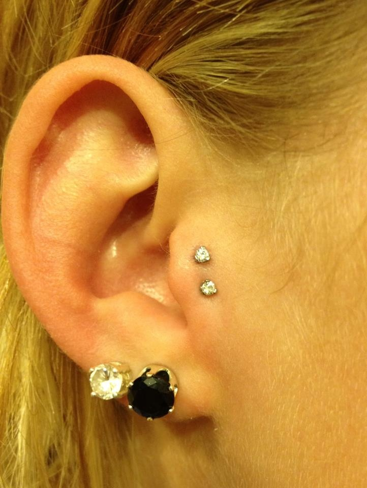 Top 25+ unique Double tragus piercing ideas on Pinterest | Peircings  XY17