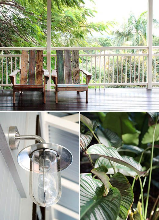 outdoor sconce. Photos – Sean Fennessy, styling / production – Lucy Feagins.