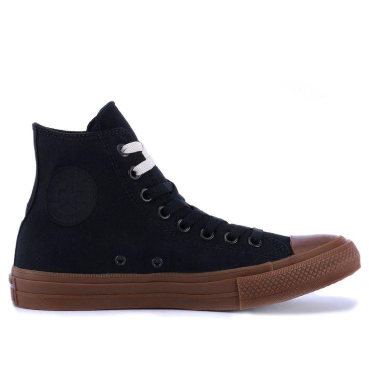 Compre Converse All Star : Tênis Converse Chuck Taylor All Star II Hi Black Black Gum 155496 por R$299,90 - Loja Virus