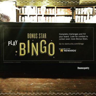 スタバのプロモ ビンゴゲーム Starbucks Bonus Star Bingo| #スタバ #プロモーション #ビンゴゲーム #Starbucks #BonusStar #BingoGame