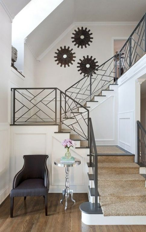 Very Nice Design On This Metal Railing.