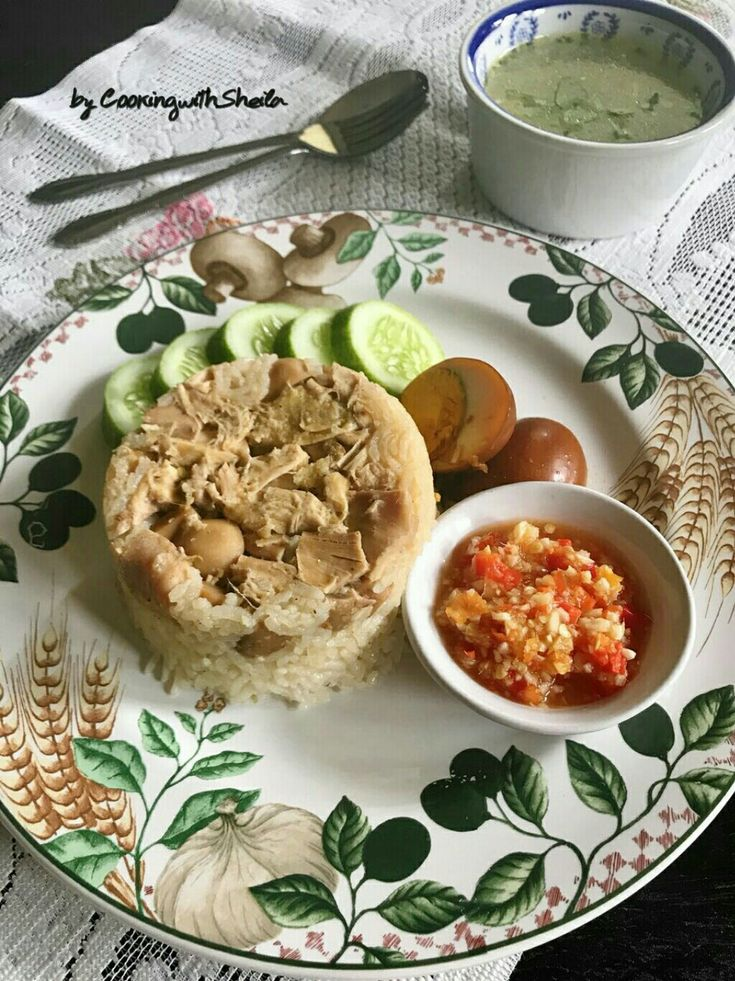 Nasi Tim Ayam Hainan