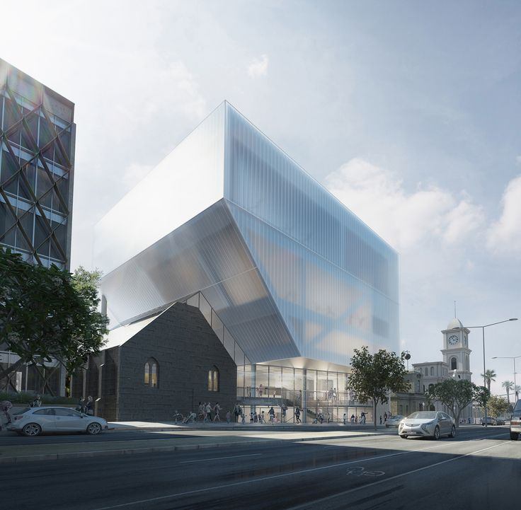 Hassell Unveil Design for Geelong Performing Arts Center,Courtesy of HASSELL