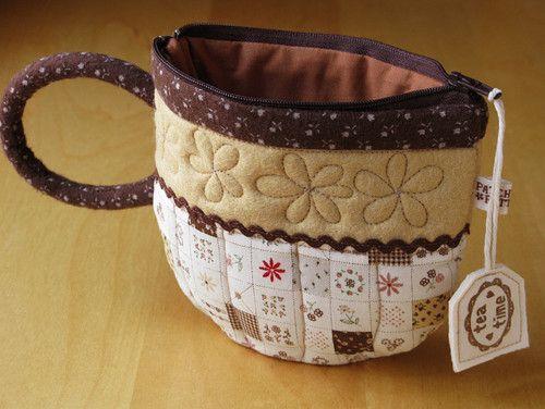 .: Teas Lovers, Teas Time, Teacup Coins, Teas Cups, Coins Purses, Teacup Pouch, Cups Of Teas, Tea Cups, Teas Pot
