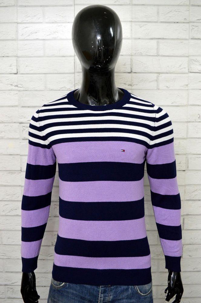 new arrival 0252f 46e77 Maglione TOMMY HILFIGER Uomo Taglia Size M Pullover Sweater ...