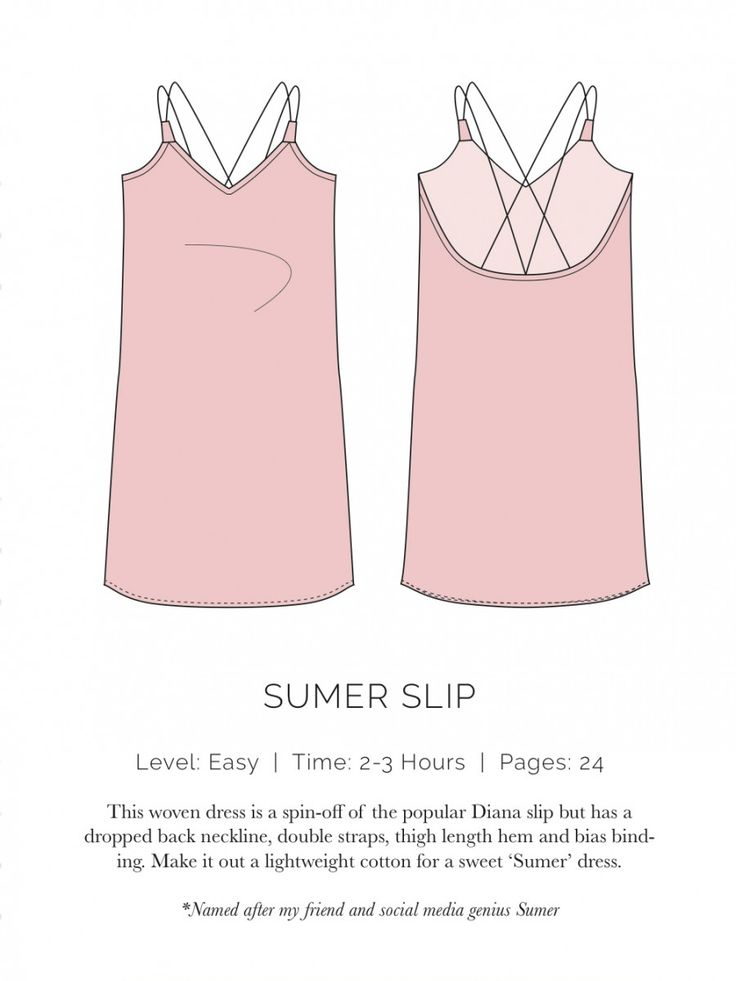 Sumer Slip Flat