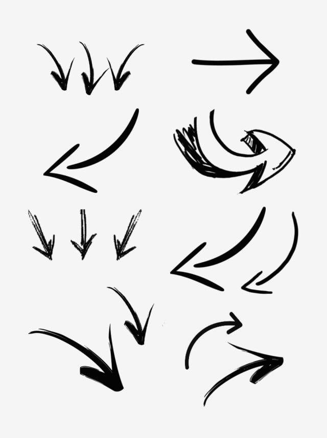 Gambar Tangan Doodle Arrow Tanda Simbol Corak Dakwat Menetapkan Elemen Ilustrasi Dicat Graffiti Anak Panah Png Dan Psd Untuk Muat Turun Percuma How To Draw Hands Illustration Doodles