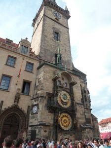 horloge astronomique, Prague
