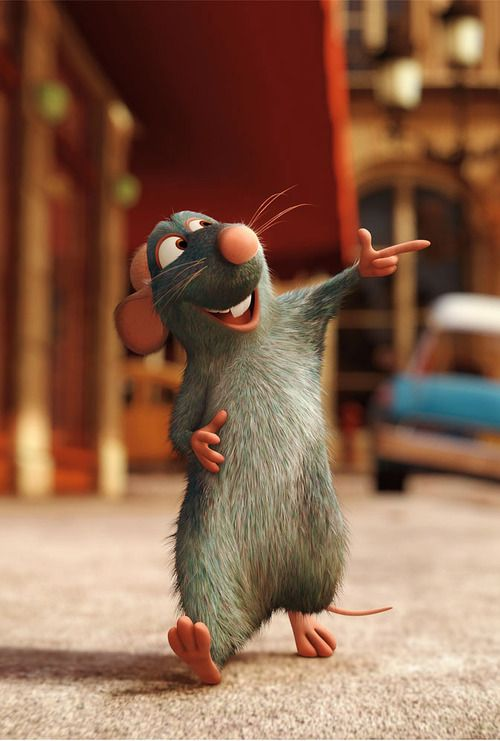 Favorite Movie: Ratatouille is a great story, with a lovable plot, and a strong message which portrays that no matter who you are or where you come from, you can be whatever you want to be.