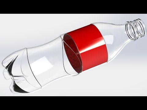 SolidWorks Tutorial #181: Cola Bottle - YouTube