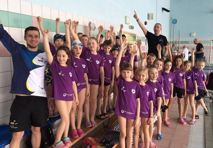 Dobre wyniki UKS NAWA na Mistrzostwach Województwa Łódzkiego klas II w pływaniu