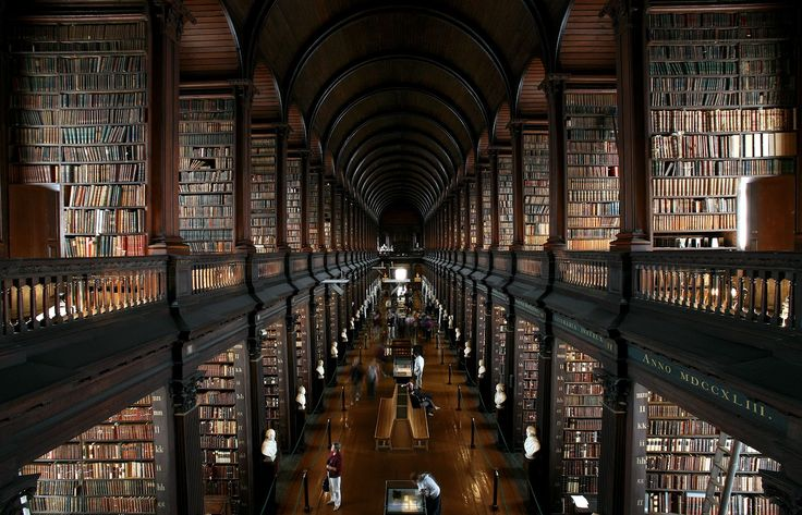 This library is the ultimate NERDvana! #TrinityCollegeLibrary #Dublin #200000Books