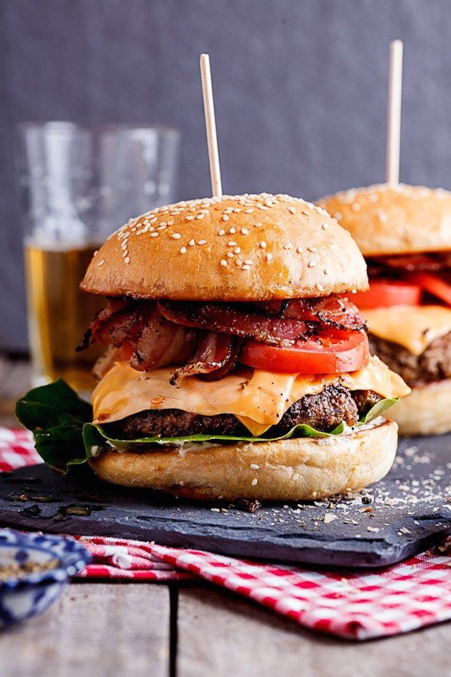 The Most Pinned Burger of All Time, Plus 15 More for Your 4th of July Party via Brit   Co