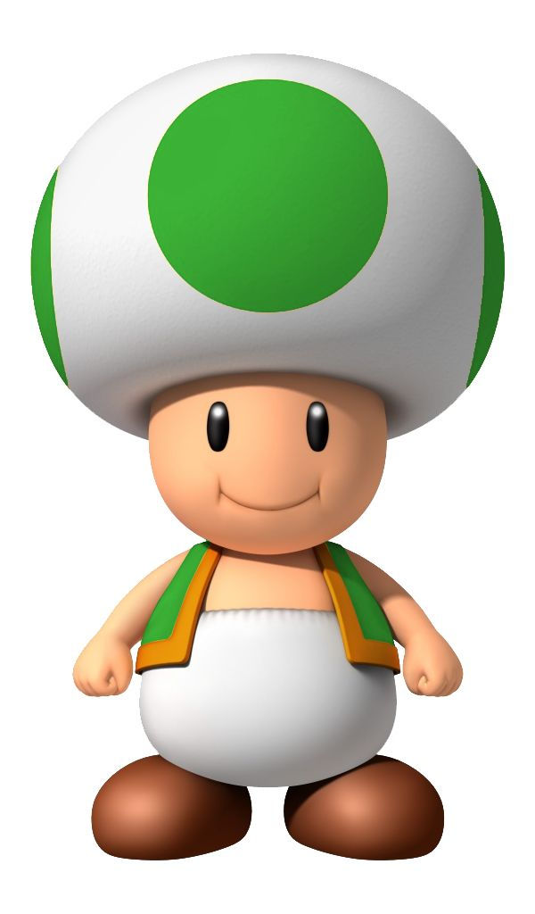 green toad mario sports mix