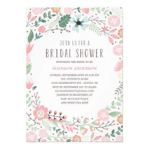 242 best vintage bridal shower invitations images on pinterest, Wedding invitations