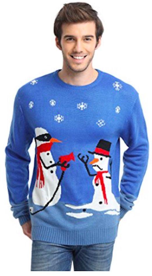 Frosty Melting Christmas Jumper