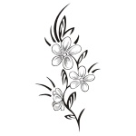 Flower Tattoo Designs and Ideas