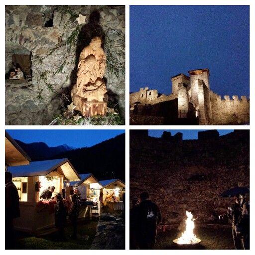 #Ossana, #presepi #mercatini #castello di #SanMichele #Valdisole #trentinowow