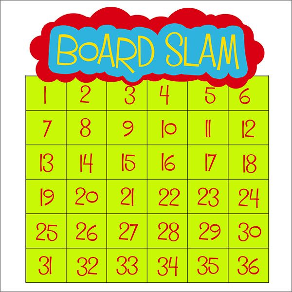 """Board Slam"" is another name for the math game that is at the heart of the National Number Knockout."