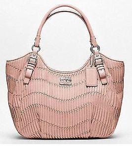 Coach Madison Gathered Leather Abigail Shoulder Bag 18603 3