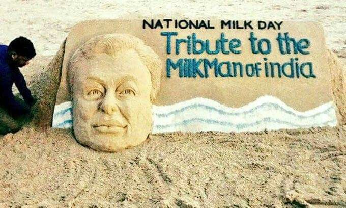 The National Milk Day in India (NMD) is on 26 November, the birthday of Dr. Verghese Kurien, father of White Revolution in India.  #TheNationalMilkDay #NationalMilkDay #MilkDay #NMD #DrVergheseKurien #राष्ट्रीयदूधदिवस #VargheseKurien #VergheseKurien #वर्गीसकुरियन #दूधदिवस #WhiteRevolution #MilkRevolution #MilkManofIndia #દૂધદિવસ #FatheroftheWhiteRevolution #AmulMan #dairydevelopment #dairyfarming #Anandpattern #Amul #AmulGirl #अमूल #वर्गीकुरियन #दूधआदमीयाभारत #AnandMilkUnionLimited #Anand…