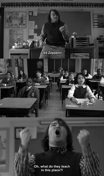 hahaha school of rock