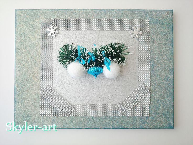 Obraz+bożonarodzeniowy+40x30+centymetry.+w+barbarella+na+DaWanda.com  #christmas #gift
