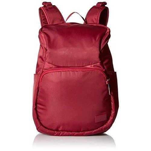 Pacsafe Citysafe CS300 Anti-Theft Compact Backpack, Cranberry  The citysafe cs300 #anti-theft #compact #backpack is versatile and functional for any travel or city inspired occasion. Durable with superb organization, this classic backpack is loaded with anti-theft features to help provide peace of mind while out and about.
