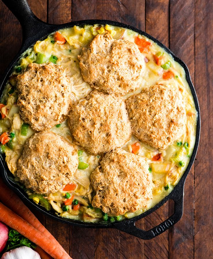 Healthy Chicken Pot Pie Recipe Is Made Completely From