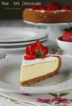 New York Cheesecake ricetta dolce made usa Statusmamma blogGz Giallozafferano torta dolce al cucchiaio semplice veloce economico