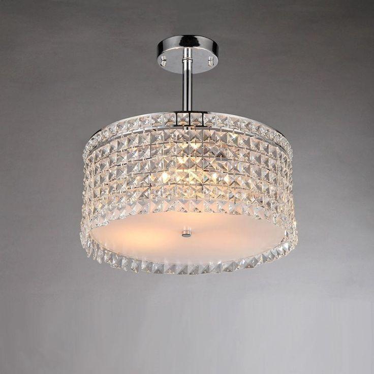 Garcia 4-Light Crystal Chandelier by Warehouse of Tiffany
