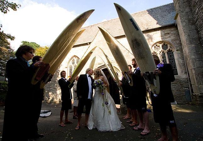 Casamento de Surfista