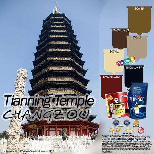 Changzhou Tianning Temple #BiasaJadiLuarBiasa #EMCOPaint http://matarampaint.com/detailNews.php?n=375