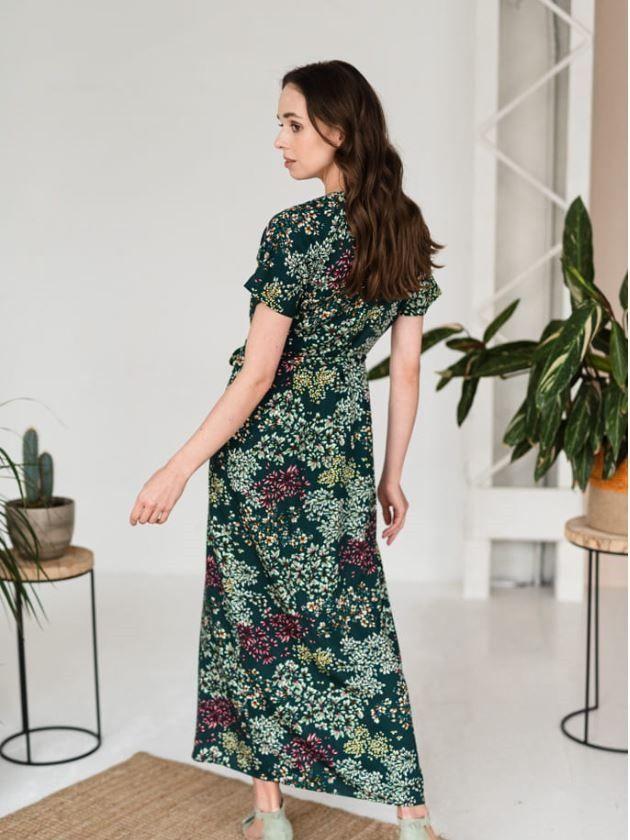 Dluga Sukienka W Kwiaty Dresses Fashion Maxi Dress