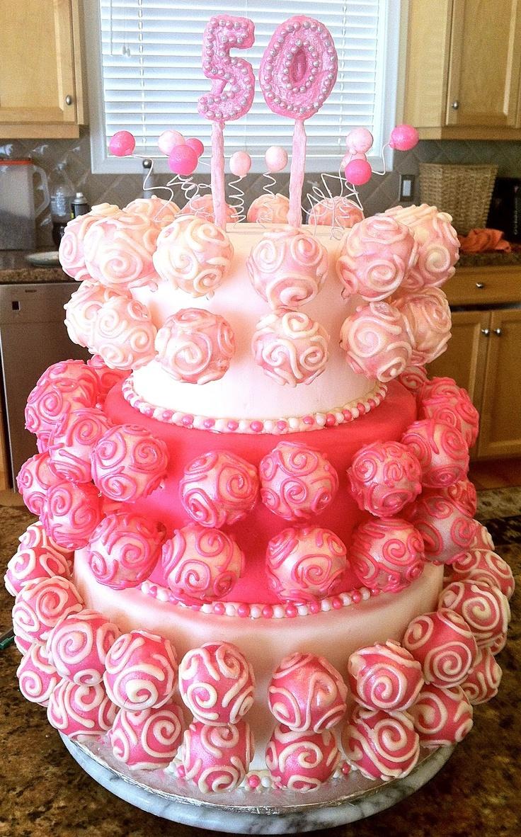 Delaine's Skinny Delights: Birthday Cake Pop Cake!